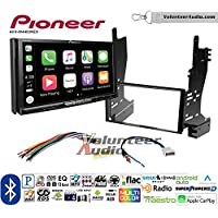Volunteer Audio Pioneer AVH-W4400NEX Double Din Radio Install Kit with Wireless Apple CarPlay, Android Auto, Bluetooth Fits 2007-2008 Nissan Maxima