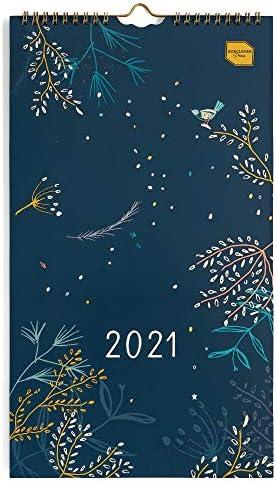 Boxclever Press Everyday Calendario 2021 delle coppie. Calendario 2021 da muro da Gen-Dic 21. Planner Mensile con 4 colonne. Calendario 2021 da parete perfetto per due persone o piccole famiglie.