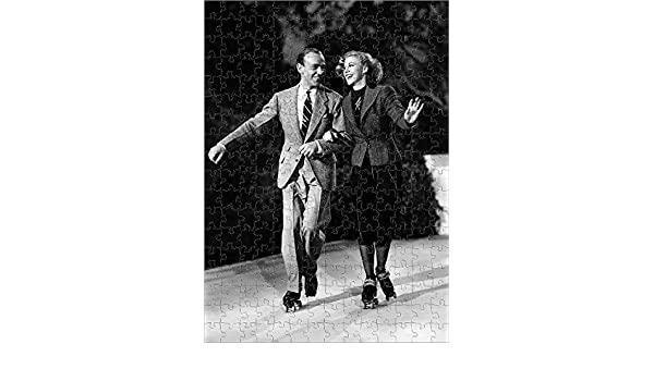 Amazon Com Media Storehouse 252 Piece Puzzle For Adults Of Fred Astaire And Ginger Rogers Shooting Shall We Dance 14267369 Toys Games