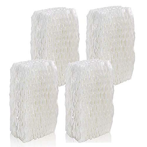 ANBOO for ReliOn WF813 Humidifier Filter Replacement Humidifier Wick Filter for RCM832 DH832 Humidifier Air Filter 4 Pack