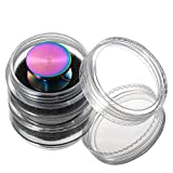 Premium quality GREAT Rainbow Color stainless steel CAP fit bearing R188 longest spin time hand spinner fidget replacement part stress toy reducer edc button Perfect for 608. THOR BEARINGS by JGRM
