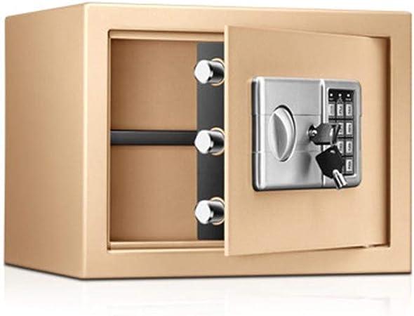 Sikungjlk Caja de Seguridad Digital Caja Fuerte Digital for Ministerio del Interior del gabinete de Seguridad con Teclado for Objetos de Valor Dinero de la joyería para el hogar, la Oficina: Amazon.es: