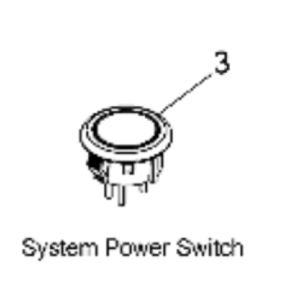 Indian Motorcycle SWITCH-SYSTEM POWER- 4016373