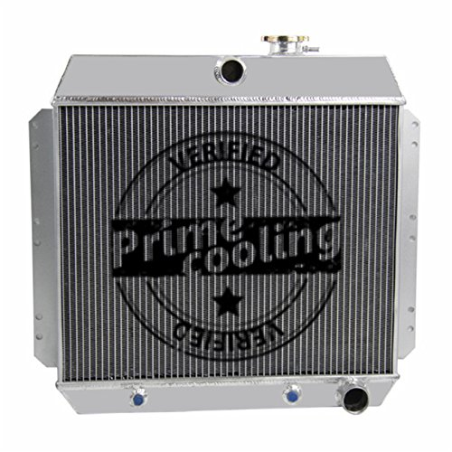 Model Chevy Deluxe (Primecooling 3 Row All Aluminum Radiator for Chevy Styleline, Bel Air ,Sedan Delivery ,210 ,Multiple Models 1949-54)
