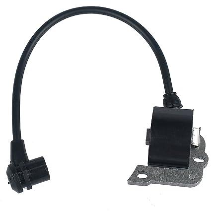 HIPA Bobina de encendido 4140 400 1308 para cortacésped STIHL FC55 FS38 FS45 FS55 HL45 HS45