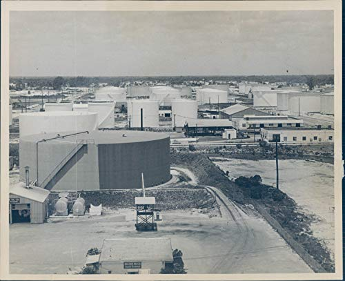 1963 Press Photo Historic Port Everglades Fort Lauderdale Fl Vintage 8X10