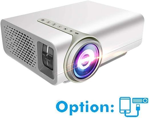 AZWE Proyector Lcd para cámara digital Teléfono inteligente Full ...