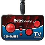 Retroplay Plug N Play 200 Game Controller - Connect Directly to TV & Play by dreamGEAR