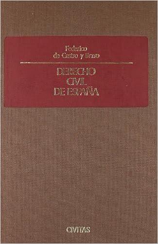 Derecho Civil de España (Nuevos Clásicos): Amazon.es: de Castro ...