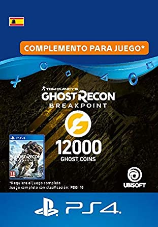 Ghost Recon Breakpoint - 9600 (+2400) Ghost Coins 12000 Coins ...