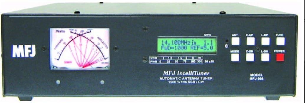 MFJ-998 - Acoplador automático (1,5 kW, 1,8-30 MHz)