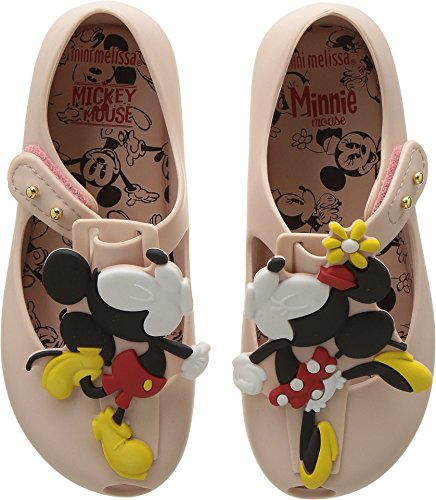 Mini Melissa Girls' Mini Ultragirl + Disney Mary Jane Flat Sand 12 Regular US Little Kid ()