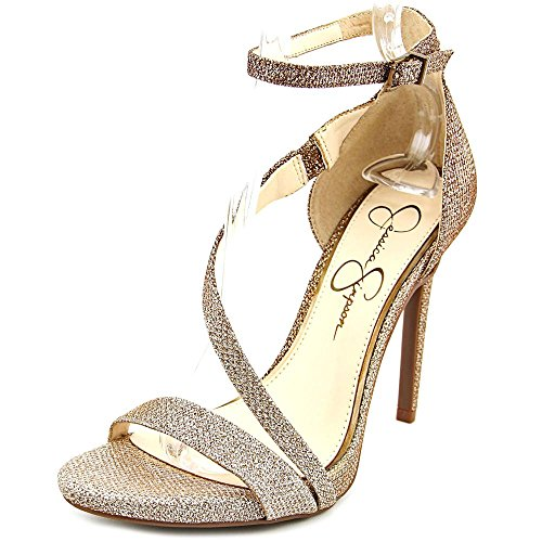 Jessica Simpson Women's Rayli Dress Pump, Gold, 7 M - Jessica Gold