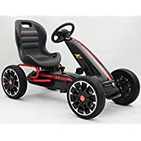 PEKECARS KART A PEDALES FIAT ABARTH BLACK