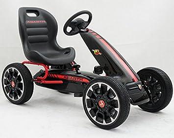 BlackJeux Abarth À Pédales Kart Pekecars Jouets Fiat Et nwO08PkX