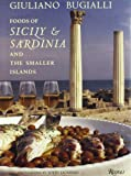 Front cover for the book Foods of Sicily & Sardinia and the Smaller Islands by Giuliano Bugialli