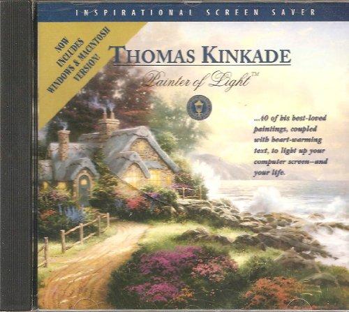 Thomas Kinkade Painter of Light Inspirational Screen Saver (CD-ROM) (Screensaver Screen Saver)