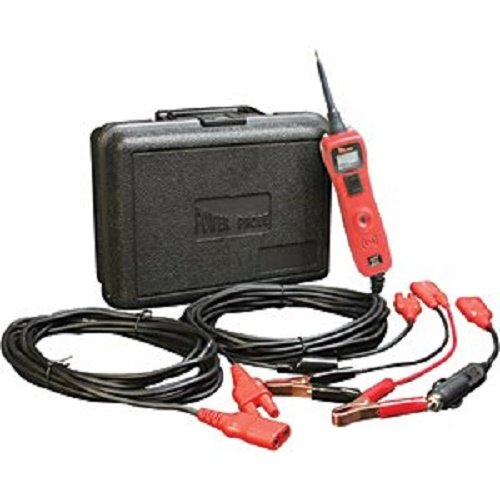 Power Probe III w/Case & Acc - Red (PP319FTCRED) [Car Automotive Diagnostic Test Tool, Digital Volt Meter, AC/DC Current Resistance, Circuit Tester]