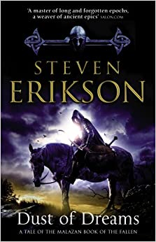 Book Dust of Dreams (Book 9 of The Malazan Book of the Fallen)