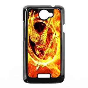 HTC One X Cell Phone Case Black Fire 7 SUX_006916