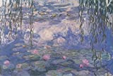Buyartforless Nympheas Waterlilies by Claude