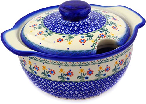 Polish Pottery 101 oz. Tureen (Collection Dinerware)