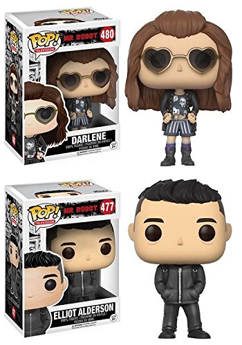 Funko POP! Mr Robot Darlene Alderson + Elliot Alderson – Vinyl Figure NEW