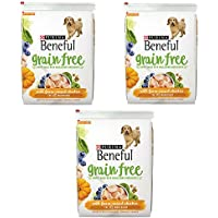 Purina Beneful Grain-Free With Real Farm-Raised Chicken Adult Dry Dog Food (Chicken, 3-Pack)