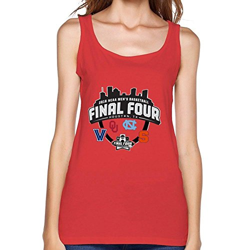 - GNZGUYJR Women's 2016 College Mens Basketball Final Four Syracuse Orange Oklahoma Sooners 100% Cotton Tank Top