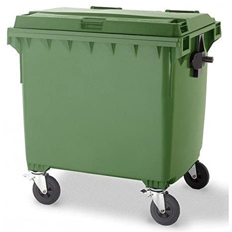 Bolsas de basura 1100L - Papelera plano 1100 litros basura ...