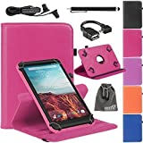 7 inch tablet starter kit - EEEKit 4in1 Starter Kit for RCA Voyager II with WiFi 7 Touchscreen Tablet,Folio Flip Stand Case Cover,Micro USB B to USB A OTG Cable and Earphone