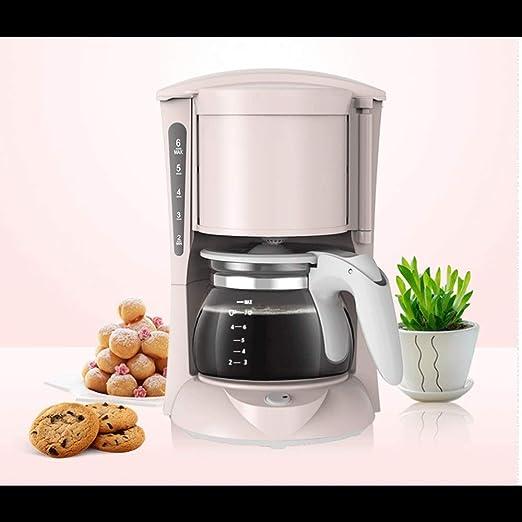 WCJ una cafetera de Goteo pequeña máquina de café recién molido ...