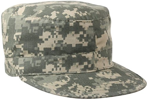 Camouflage & Solids Military Patrol Hat Fatigue Cap Army Navy Air Force Marine ()