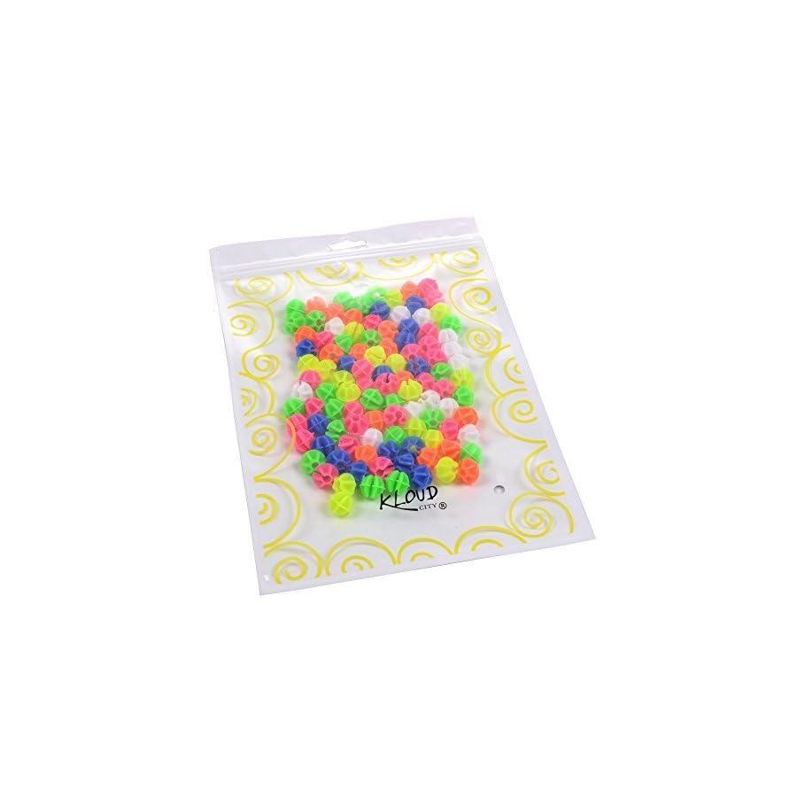 KLOUD City® Assorted Colors Bike Bicycle Wheel Spokes Plastic Clip Bead/Spoke Derections