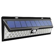 Mpow - 54 LED Lampada Wireless ad Energia Solare da Esterni