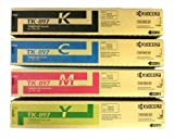 Kyocera Mita Part# TK-897C, TK-897K, TK-897M, TK-897Y Toner Cartridge Set (OEM)