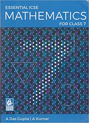 Amazon in: Buy Essential ICSE Mathematics for Class 7 (2018