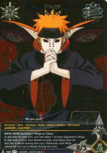 Naruto - Pain [Deva Path] 1000 - Path of Pain - Super Rare - Foil - 1st Edition