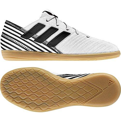 adidas Nemeziz 17.4 In J, Zapatillas de Fútbol Sala Unisex Niños Blanco (Ftwbla / Negbas / Amasol)