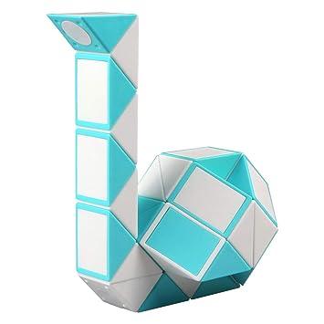 KidsPark Rubix Snake Twist Puzzle Toy 24 Parts Twisty Magic Ruler For Kids /&