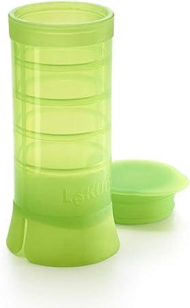 L/éku/é Recipiente de Silicona para congelar Especies