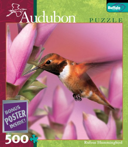 Audubon: Rufous Hummingbird jigsaw puzzle
