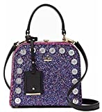 Kate Spade Violina Skyline Way Crossbody Glitter Pink Handbag