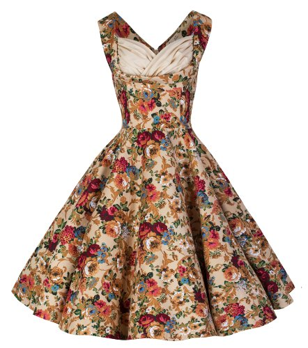 Lindy-Bop-Ophelia-Vintage-1950s-Floral-Spring-Garden-Party-Picnic-Dress