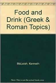 roman greek drink food flip amazon front