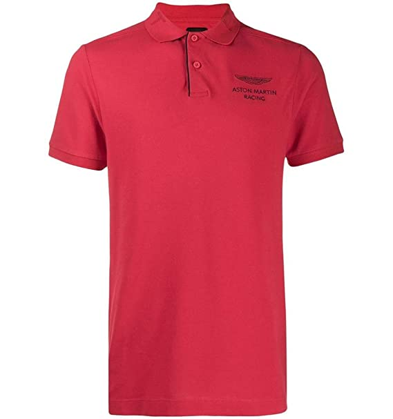 Polo Hackett Aston Martin HKT JCQD - Color - ROJO, Talla - XL ...