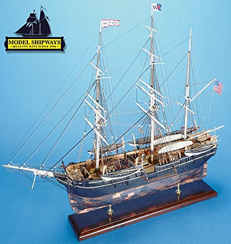 Model Shipways Wood Ship Kit Charles Morgan Whale Bark 1:64 Scale MS2140