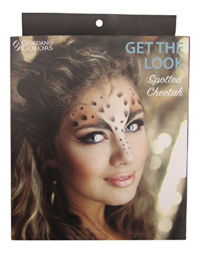 Giordano Colors Get The Look Halloween Make Up Kit - Spotted Cheetah