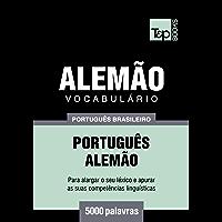 Vocabulário Português Brasileiro-Alemão - 5000 palavras
