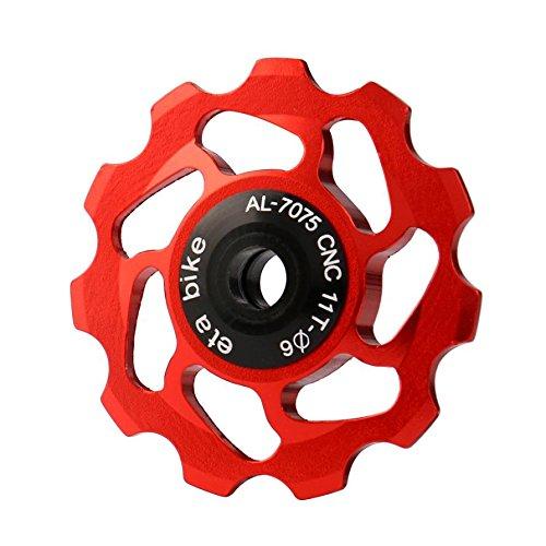 Hunpta 11T MTB Keramiklager Jockey Rad Riemenscheibe Rennrad Fahrrad Schaltwerk